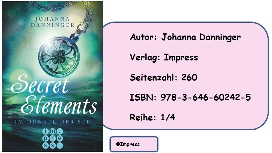 [Rezension] Secret Elements, Band 1: Im Dunkel der See