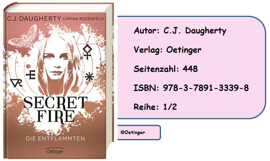 [Rezension] Secret Fire, Band 1: Die Entflammten