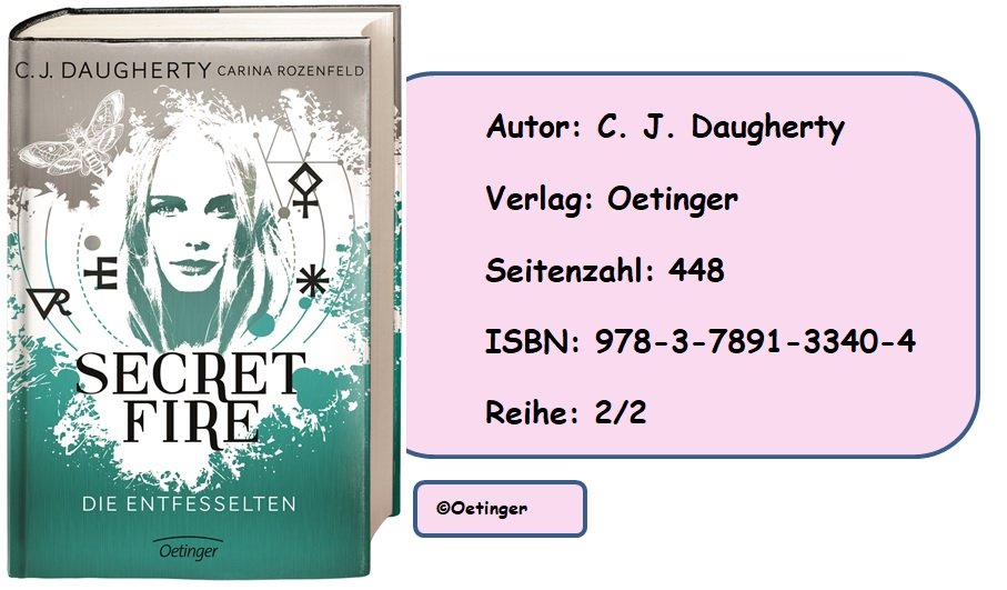 [Rezension] Secret Fire, Band 2: Die Entfesselten