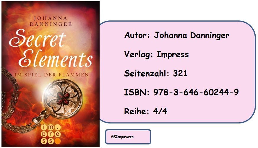 [Rezension] Secret Elements, Band 4: Im Spiel der Flammen