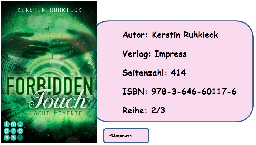 [Rezension] Forbidden Touch, Band 2: Acht Momente