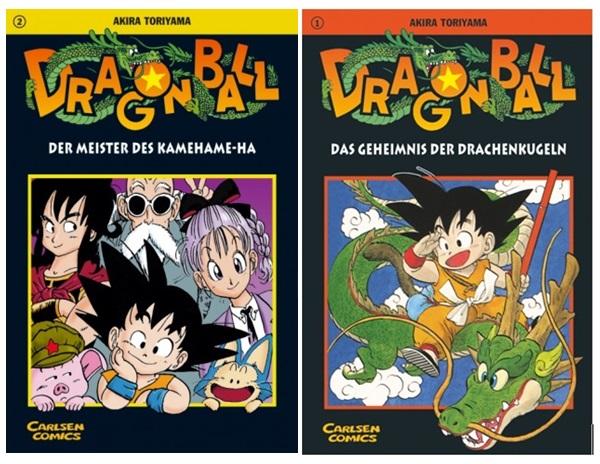 [Rezension] Dragon Ball 1-2