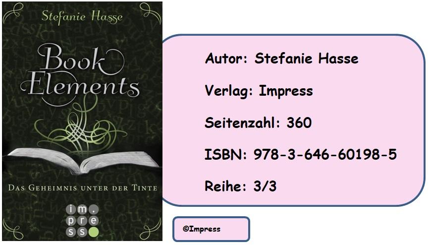 [Rezension] BookElements, Band 3: Das Geheimnis unter der Tinte