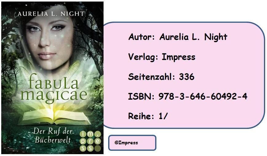 [Rezension] Fabula Magicae, Band 1: Der Ruf der Bücherwelt