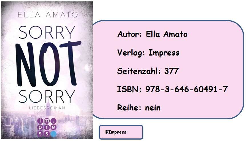 [Rezension] Sorry Not Sorry