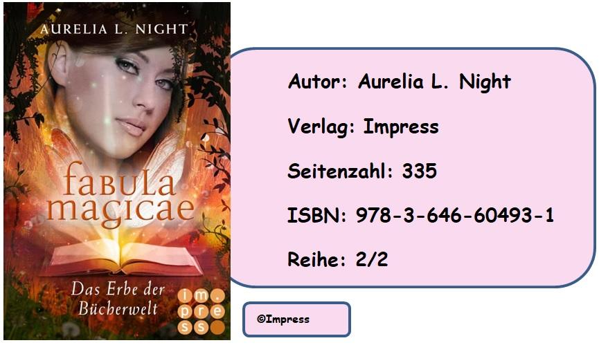 [Rezension] Fabula Magicae, Band 2: Das Erbe der Bücherwelt