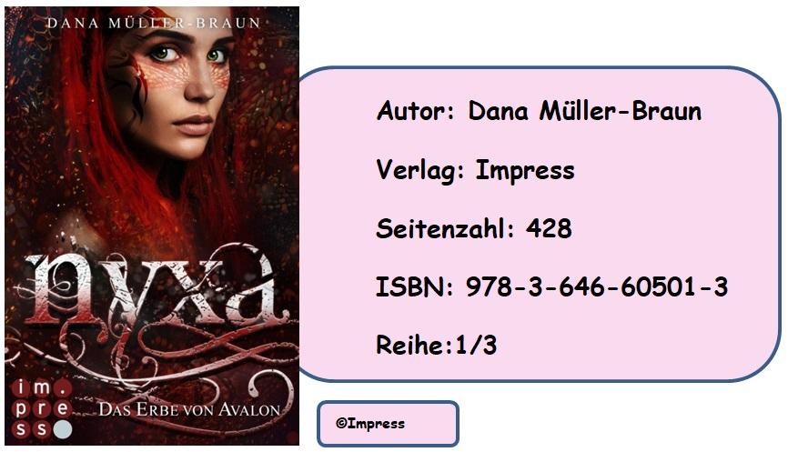 [Rezension] Nyxa, Band 1: Das Erbe von Avalon
