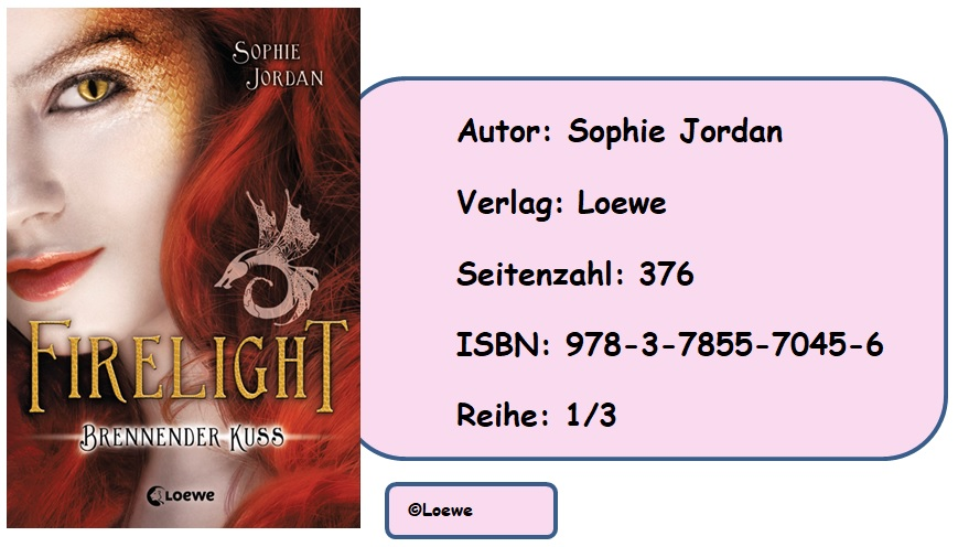 [Rezension] Firelight, Band 1: Brennender Kuss