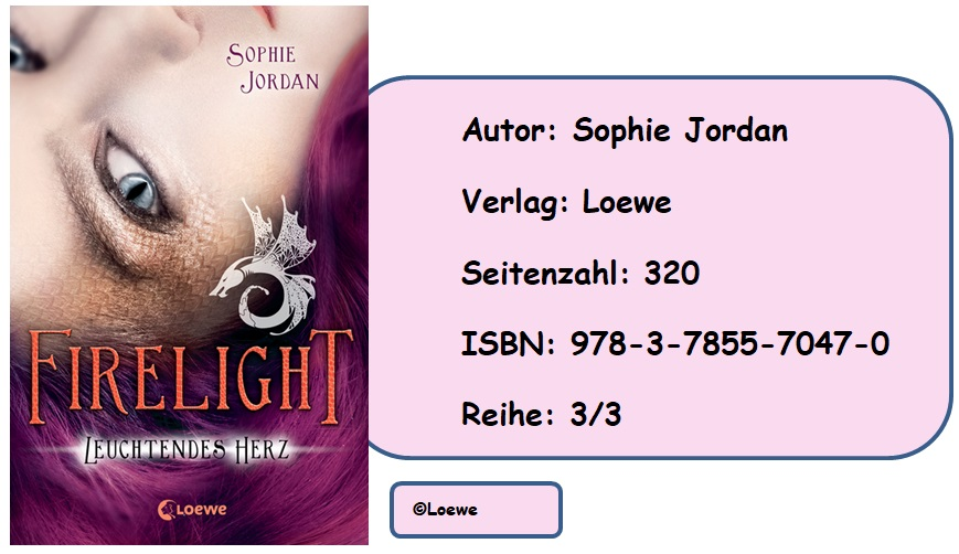 [Rezension] Firelight, Band 3: Leuchtendes Herz