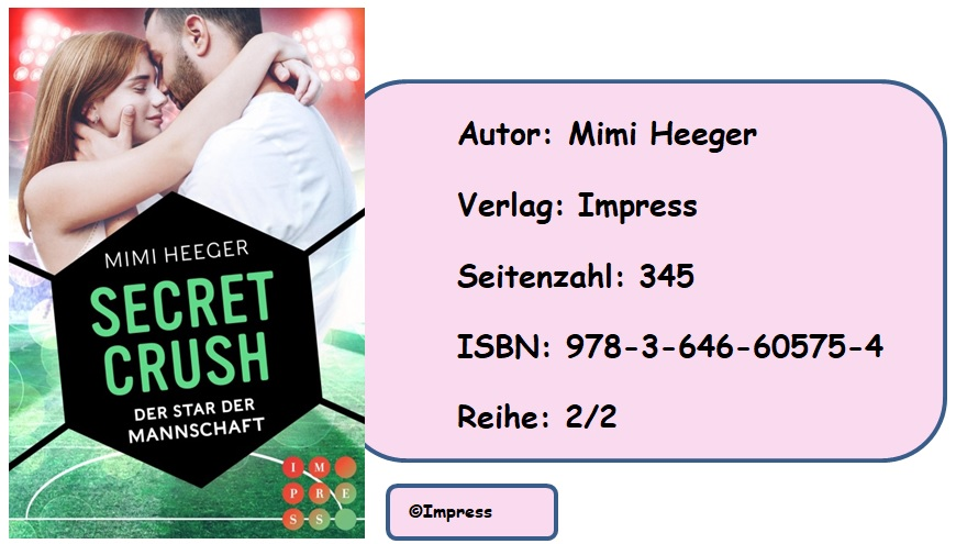 [Rezension] Secret Crush, Band 2: Der Star der Mannschaft