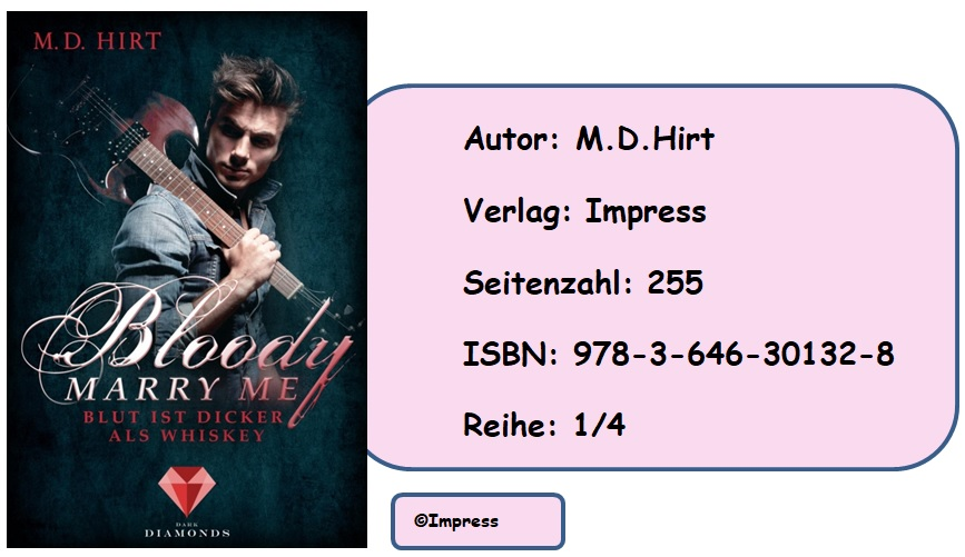 [Rezension] Bloody Marry Me, Band 1: Blut ist dicker als Whyskey