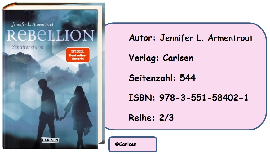 [Rezension]  Revenge, Band 2: Rebellion – Schattensturm