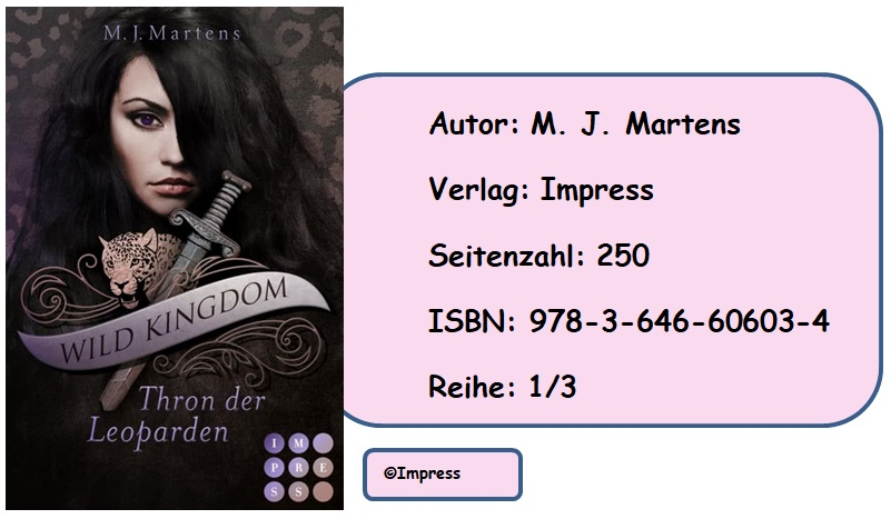 [Rezension] Wild Kingdom, Band 1: Thron der Leoparden