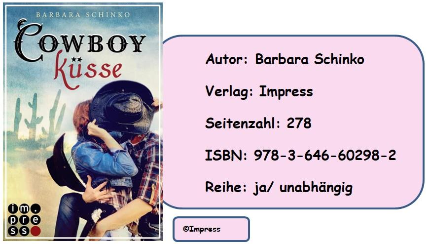 [Rezension] Cowboyküsse von Barbara Schinko