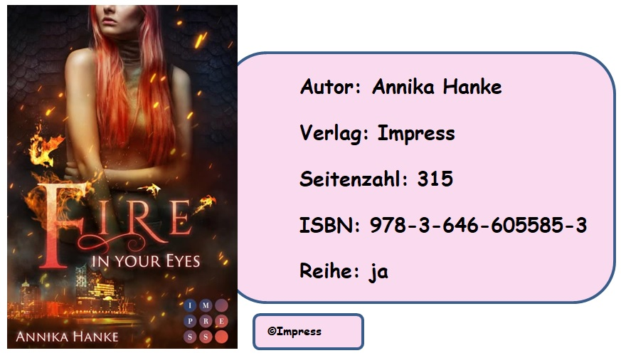 [Rezension] Die Drachenwandler 1: Fire in your Eyes