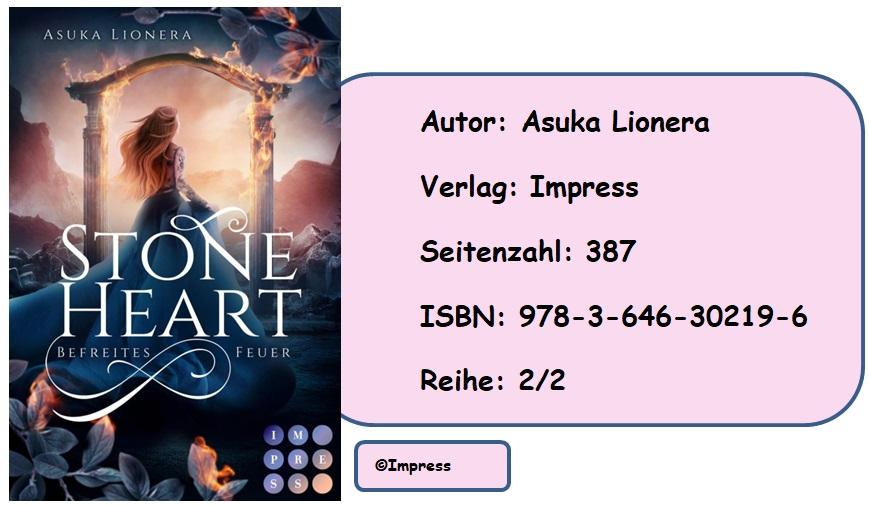 [Rezension] Stoneheart 2: Befreites Feuer
