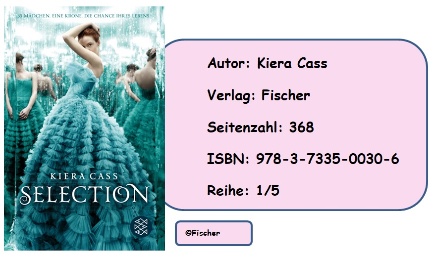 [Rezension] Selection, Band 1 von Kiera Cass