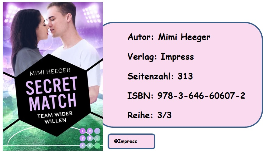 [Rezension] Secret-Reihe, Band 3: Secret Match – Team wider Willen