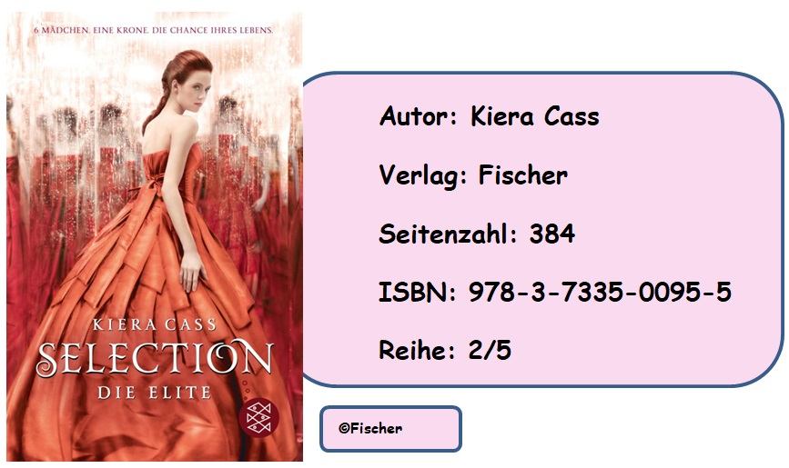 [Rezension] Selection, Band 2: Die Elite von Kiera Cass