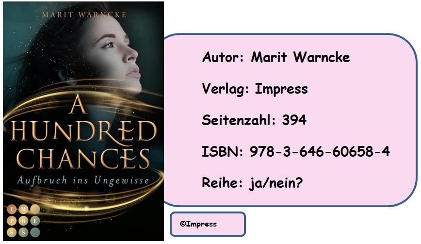 [Rezension] A Hundred Chances. Aufbruch ins Ungewisse