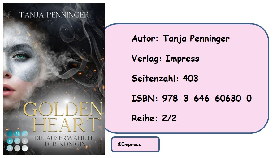 [Rezension] Golden Heart, Band 2: Die Auserwählte der Königin