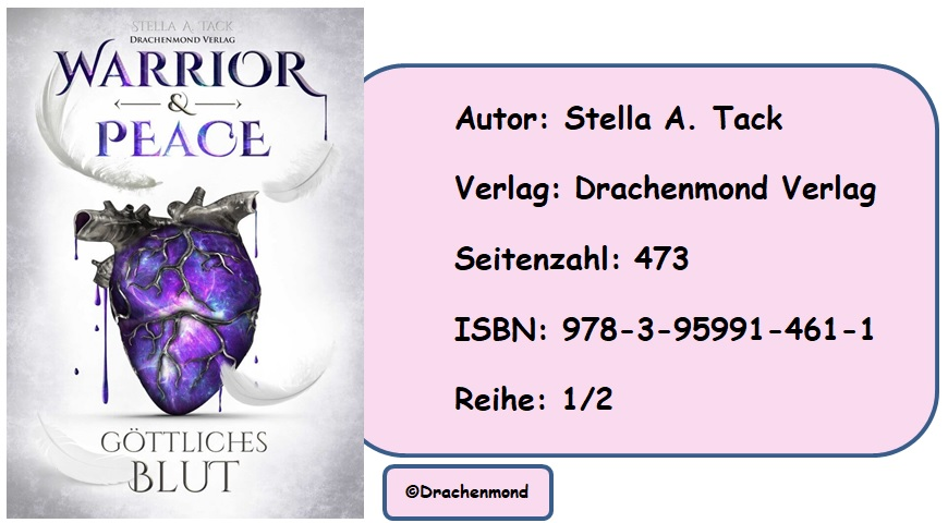 [Rezension] Warrior & Peace, Band 1: Göttliches Blut