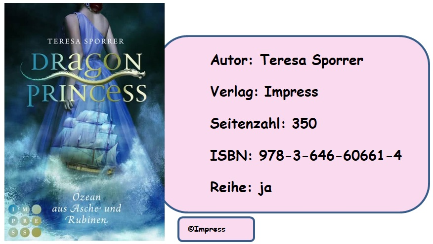 [Rezension] Dragon Princess, Band 1: Ozean aus Asche und Rubinen