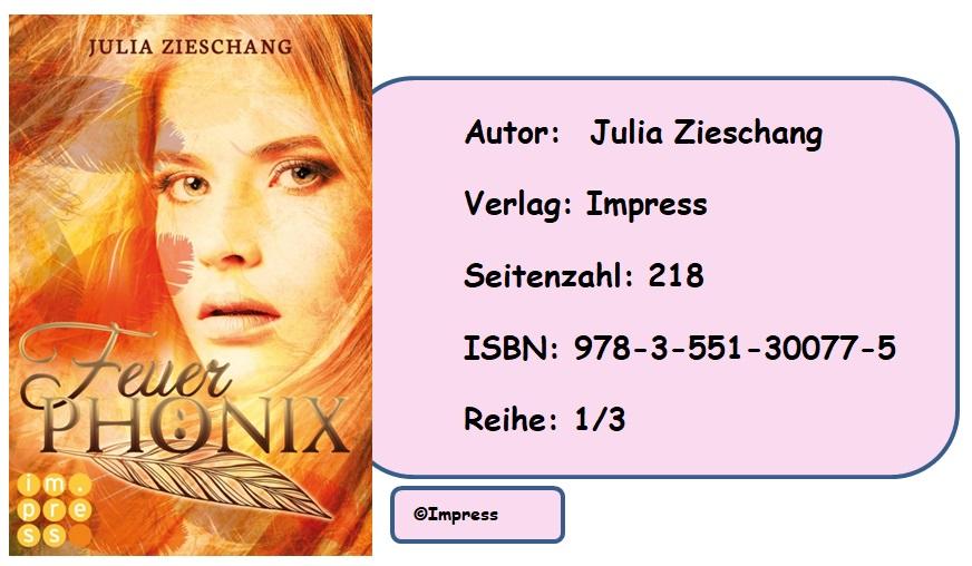 [Rezension] Die Phönix-Saga, Band 1: Feuerphönix