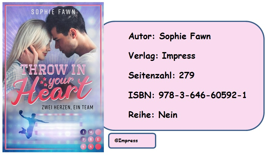 [Rezension] Throw in your Heart. Zwei Herzen, ein Team