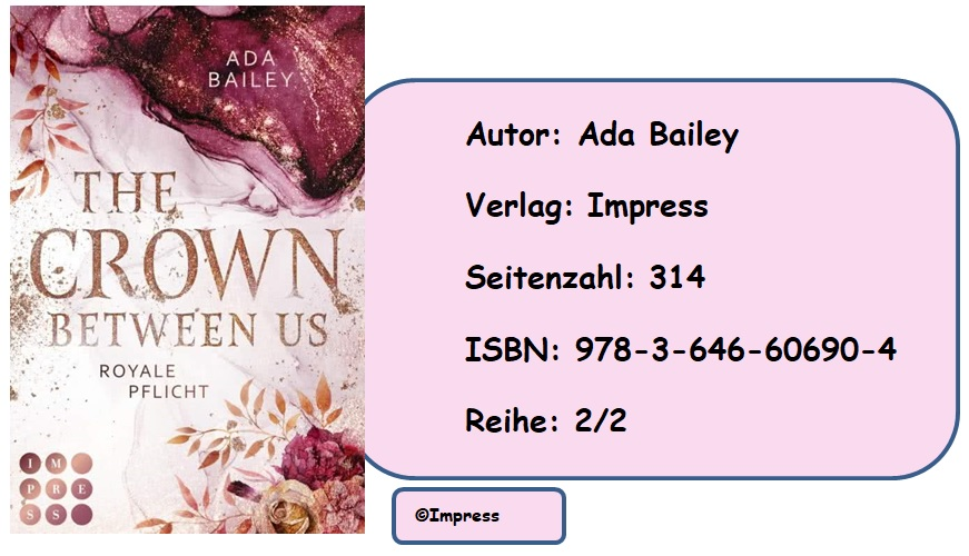 [Rezension]The Crown Between Us, Band 2: Royale Pflicht