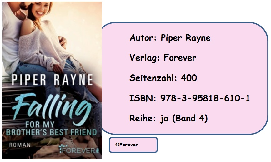 [Rezension] Die Bailey Reihe, Band 4: Falling for my Brother's Best Friend