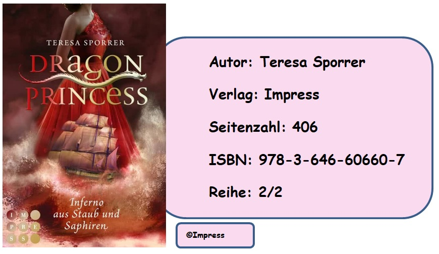 [Rezension] Dragon Princess, Band 2: Inferno aus Staub und Saphiren