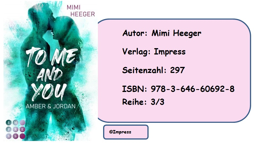 [Rezension] To Me and You, Band 3: Amber & Jordan