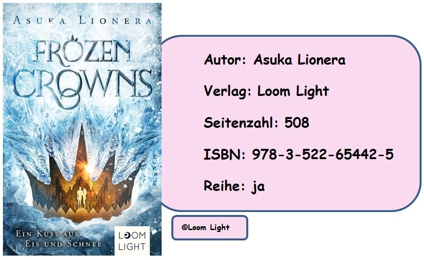 [Rezension] Frozen Crowns, Band 1: Ein Kuss aus Eis und Schnee