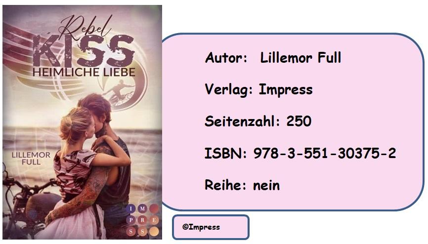 [Rezension] Rebel Kiss. Heimliche Liebe