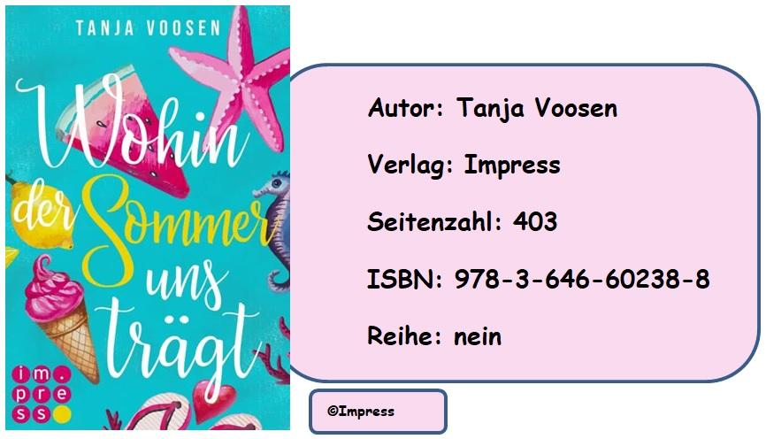[Rezension] Wohin der Sommer uns trägt von Tanja Voosen
