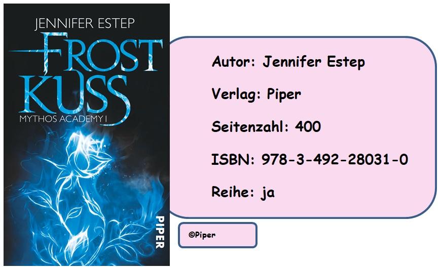 [Rezension] Mythos Academy, Band 1: Frostkuss von Jennifer Estep