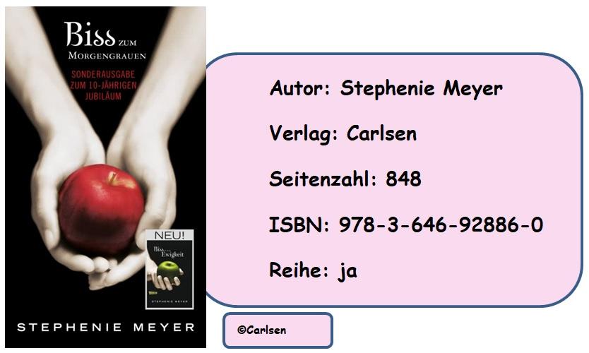 [Rezension] Biss-Jubiläumsausgabe: Biss in alle Ewigkeit/Biss zum Morgengrauen: Wendebuch von Stephenie Meyer